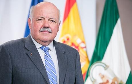 Jesús Aguirre Muñoz. Consejero de Salud y Familias