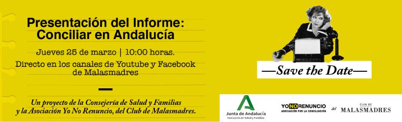 Presentación del estudio 'Conciliar en Andalucía'